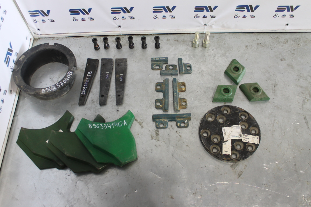 Запасные части для дробилки BARMAC (2)
