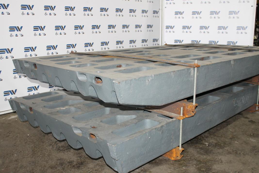 Комплект дробящих плит «СС» для дробилки JM 1211 ,CJ612 (2)