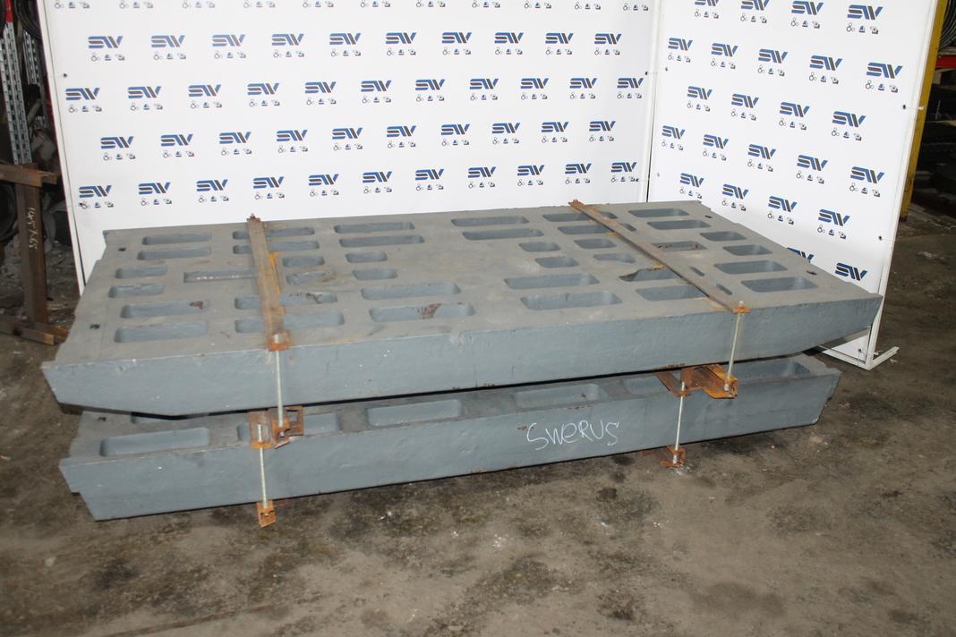 Комплект дробящих плит «СС» для дробилки JM 1211 ,CJ612