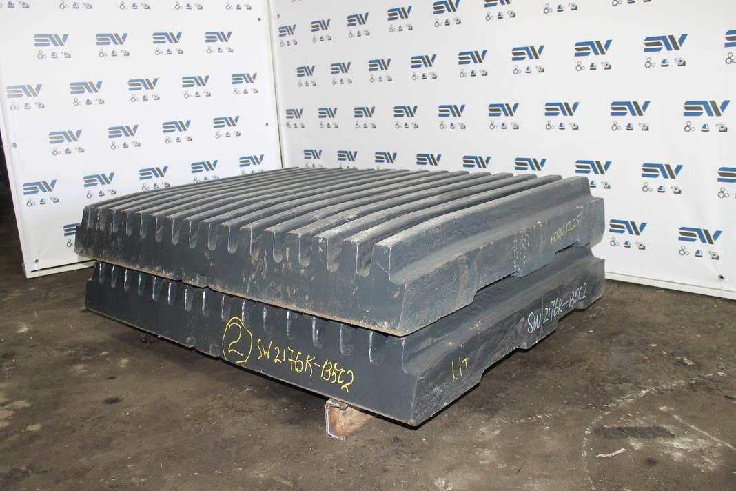 Комплект подвижных плит для дробилки HCС2176 (2)