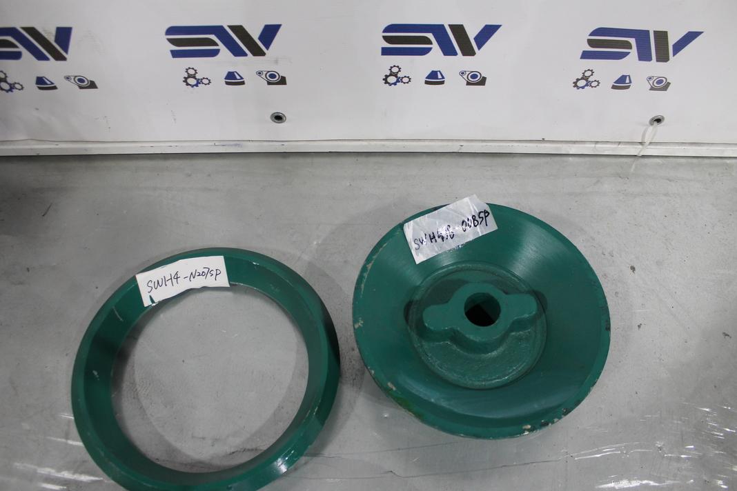 Отжигаемое кольцо и конус питания для дробилки HP3